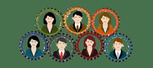 Mitarbeiter, Arbeit, Zusammenarbeit