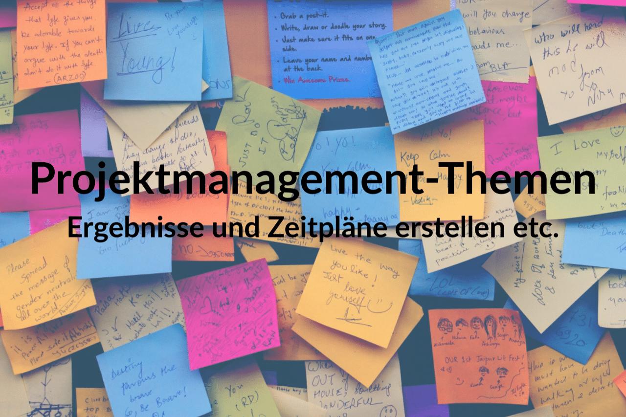 Weitere Projektmanagement-Themen