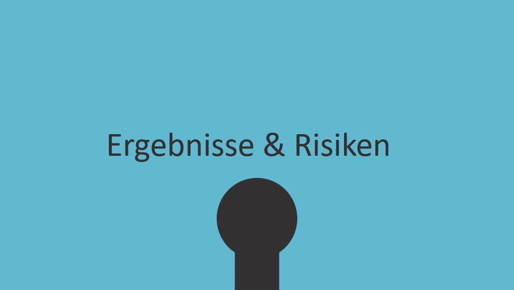Puzzle-Ergebnisse-Risiken