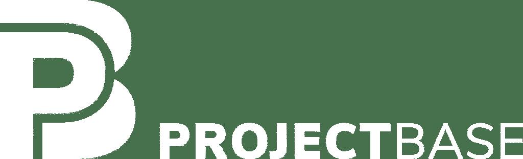 Logo Project Base weiß